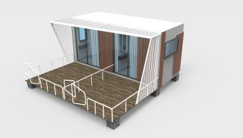 2 rooms-20foot container size- boutique04